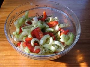 cucumberfennelsalad