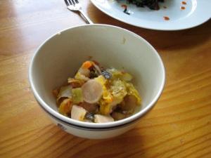 kimchionplate