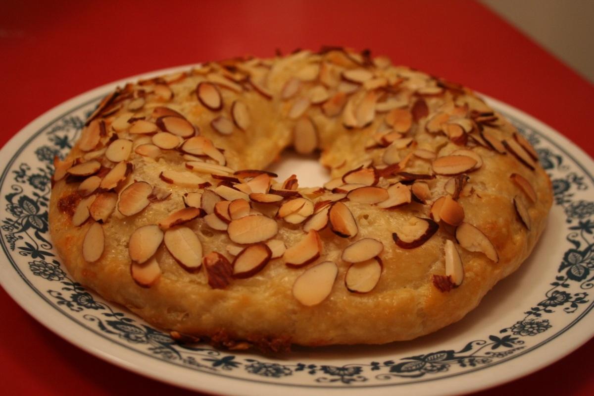 Banket, a Dutch almond pastry