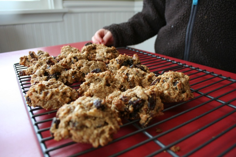 Oatmeal Tahini Cookies, via The New Home Economics