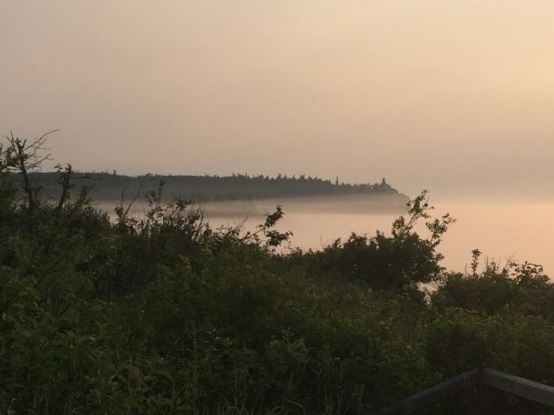Split Rock Lighthouse at sunrise