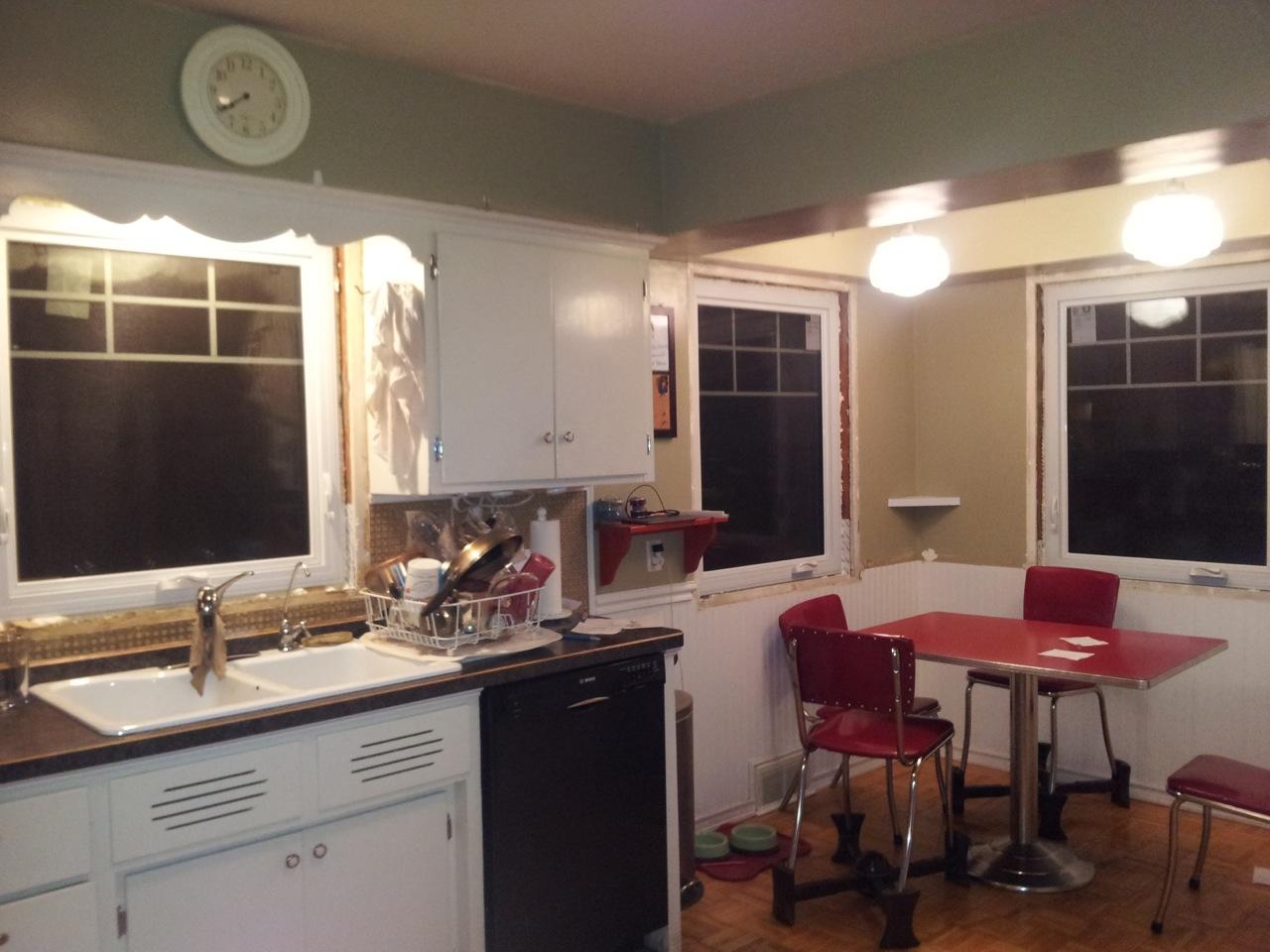 Kitchen, during
