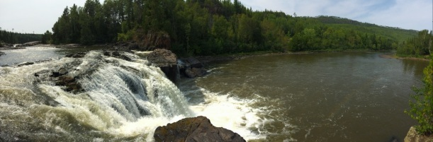 Pigeon River Middle Falls Grand Portage