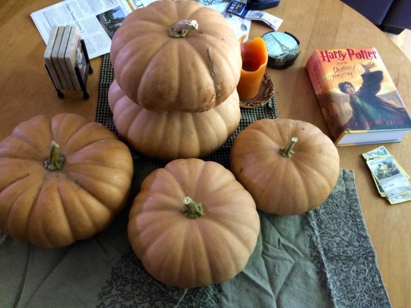 Our prettier pumpkins, via the New Home Economics