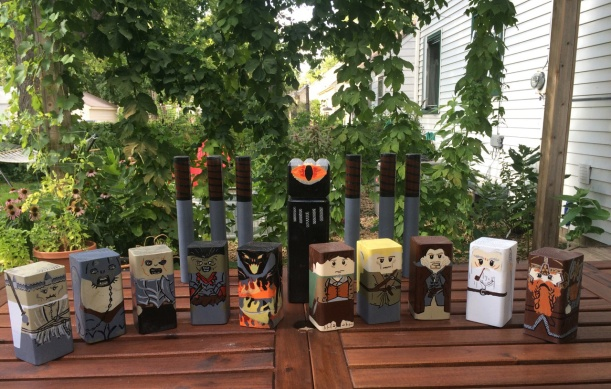 Lord of the Rings Kubb, via The New Home Economics