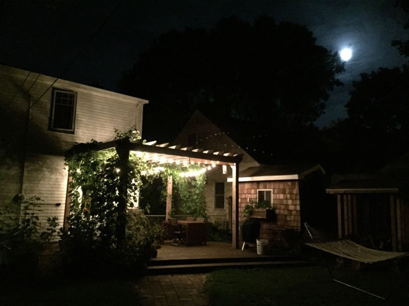Moon rise over Minneapolis, via The New Home Economics
