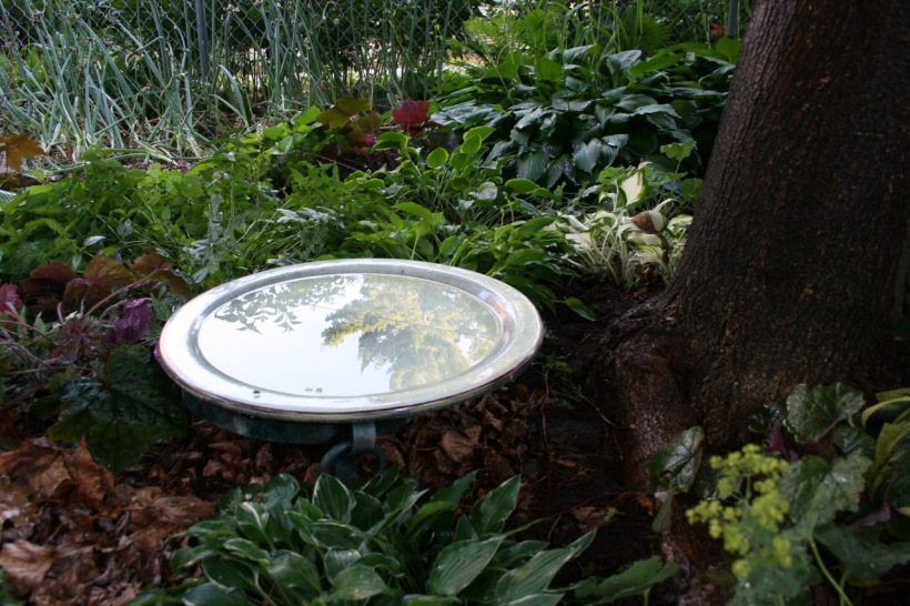 Bird bath, via The New Home Economics
