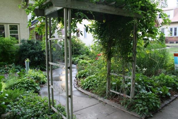 garden arch, via The New Home Economics
