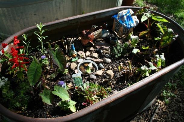 Fairy garden, via The New Home Economics