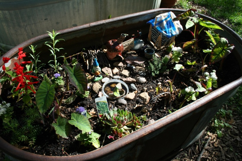Fairy garden, via The New Home Economics