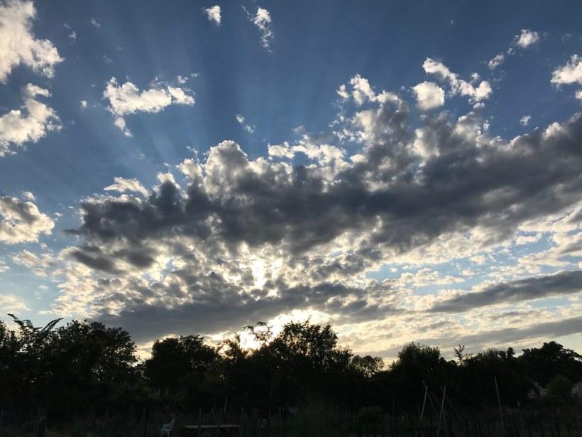 Sunset over Sabathani